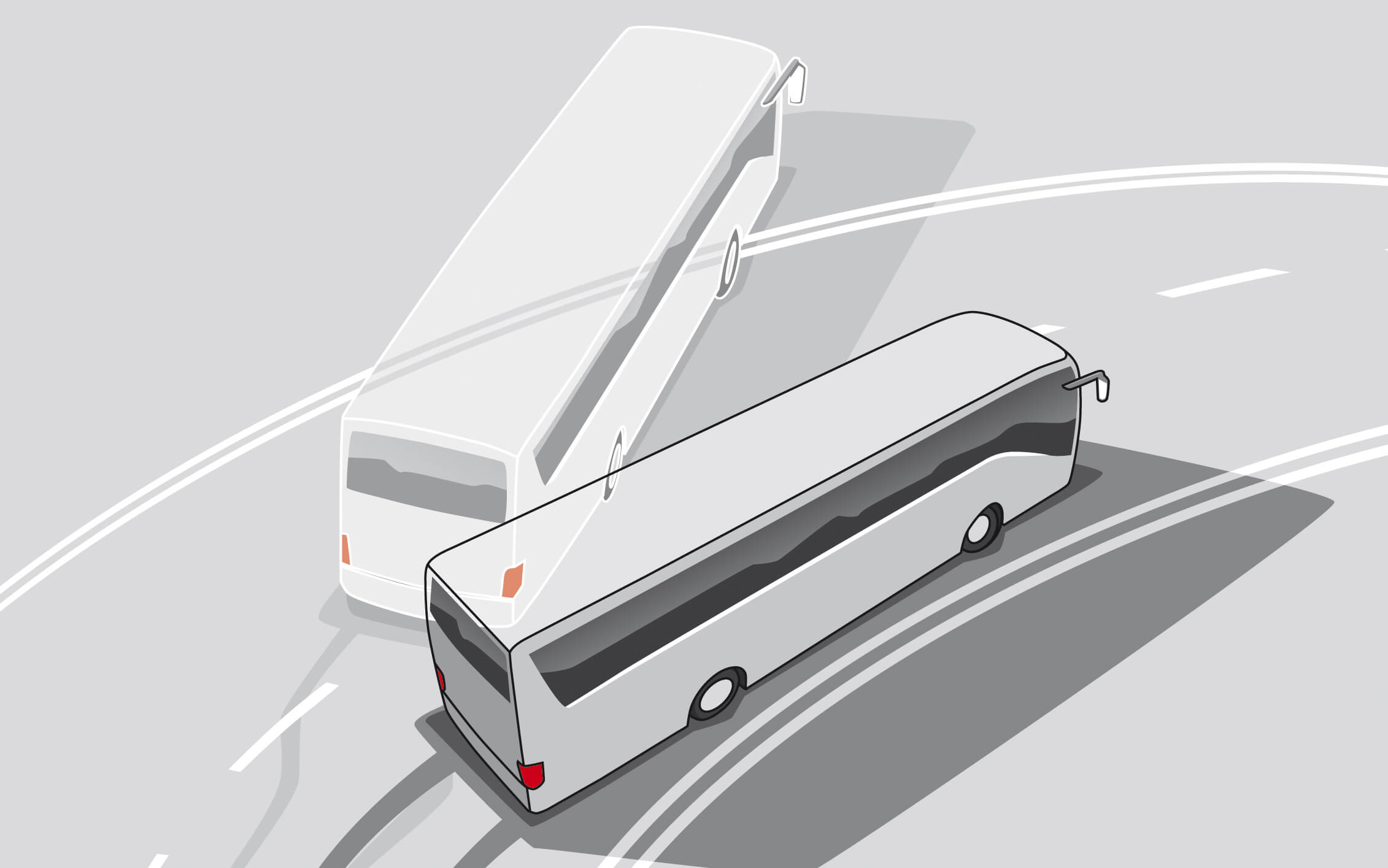 Elektronisches Stabilitätsprogramm - reduziert die Schleudergefahr deutlich, in dem es u.a. durch gezieltes Abbremsen einzelner Räder einem Ausbrechen des Fahrzeugs entgegenwirkt.