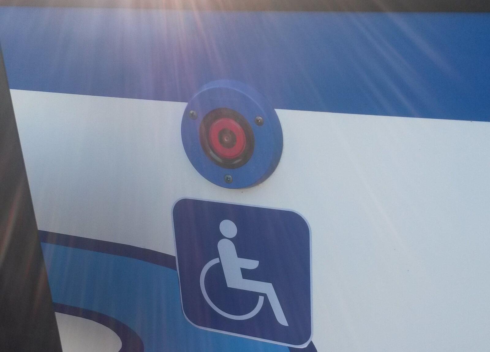 Einstieg Rollstuhlfahrer