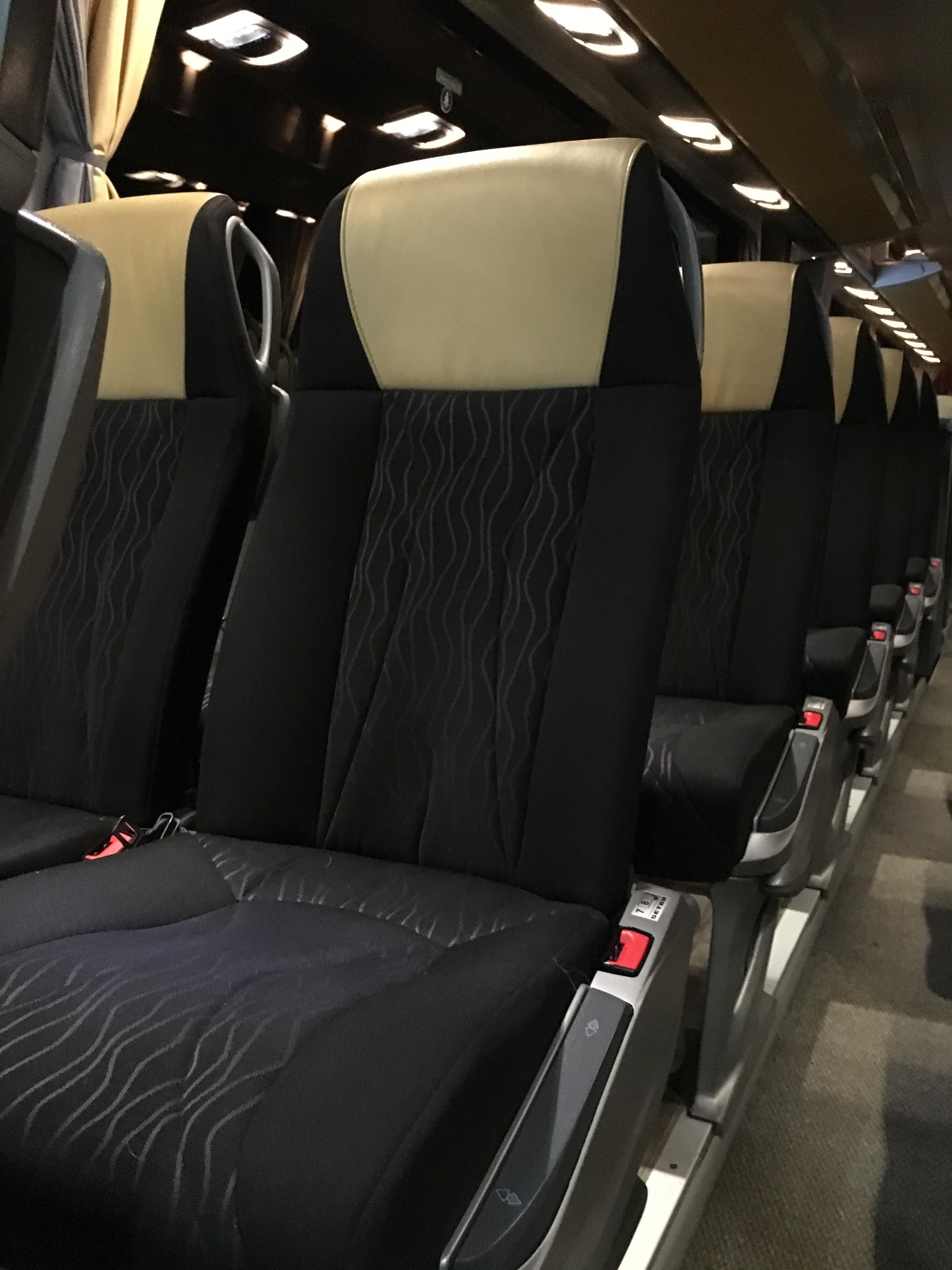 Setra Fernreisebus Sitze