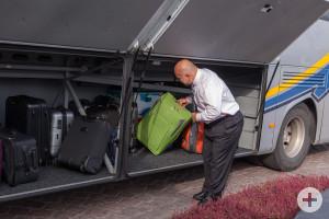 Gepäckverladung